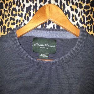 Men's Retro Eddie Bauer Sweater Size Tall Large